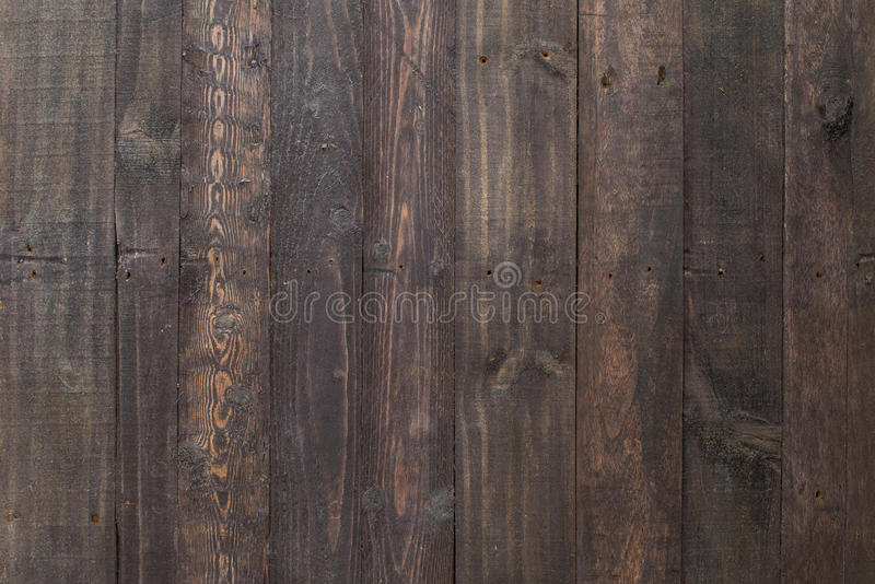Schwarze Holzverkleidung lizenzfreies stockbild