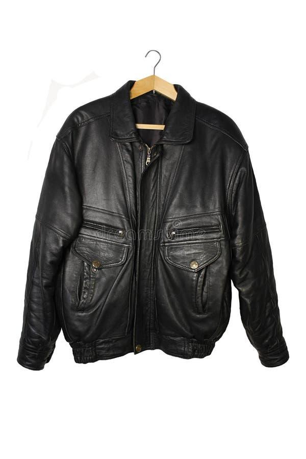 Schwarze Jacke lizenzfreie stockbilder
