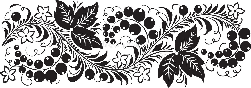Schwarze Johannisbeere lizenzfreie abbildung