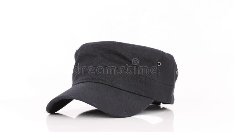 Schwarze Kappe, die auf Sie wartet lizenzfreie stockfotos