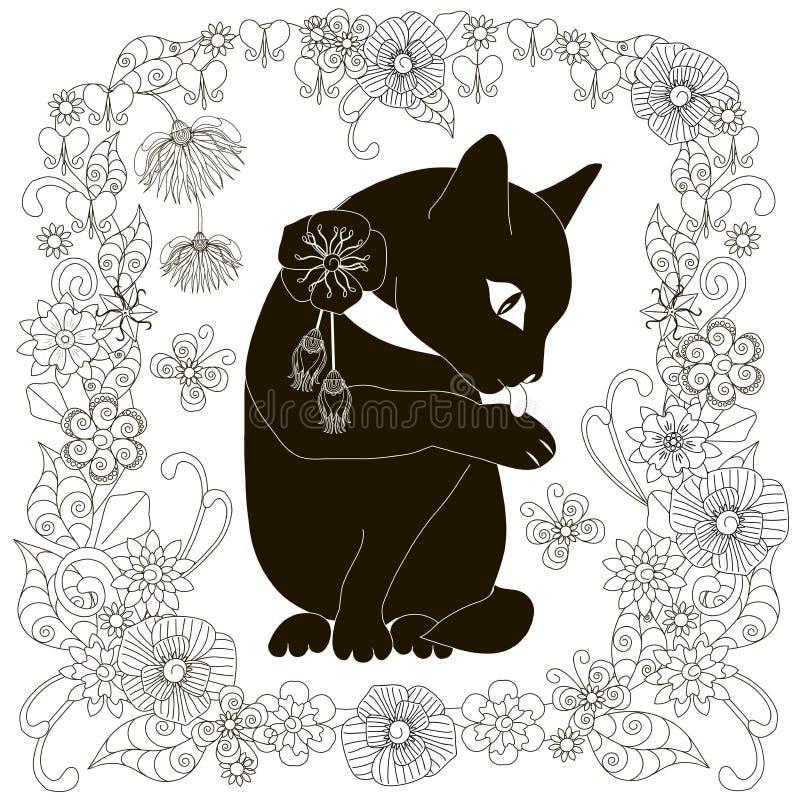 Wunderbar Schwarze Katze Färbung Seite Galerie ...