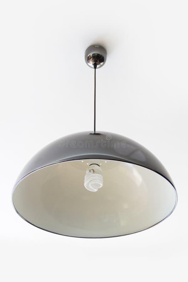 Schwarze Lampe stockfoto