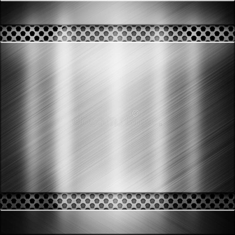 Schwarze Metallbeschaffenheit stockfoto