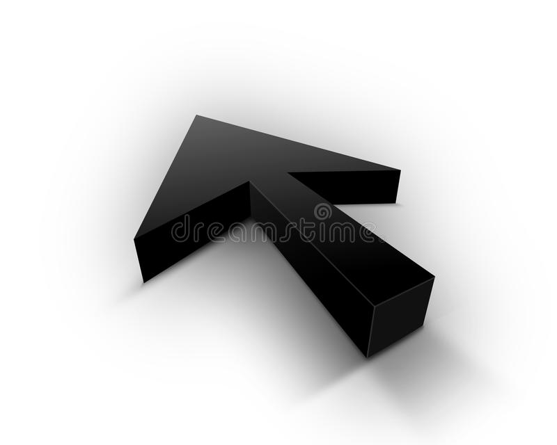 Schwarze Nadelanzeige vektor abbildung