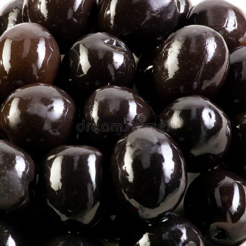 Schwarze Oliven. stockfotos