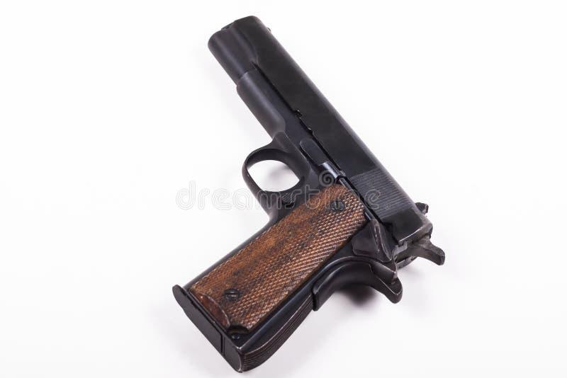 Schwarze Pistole stockfotografie