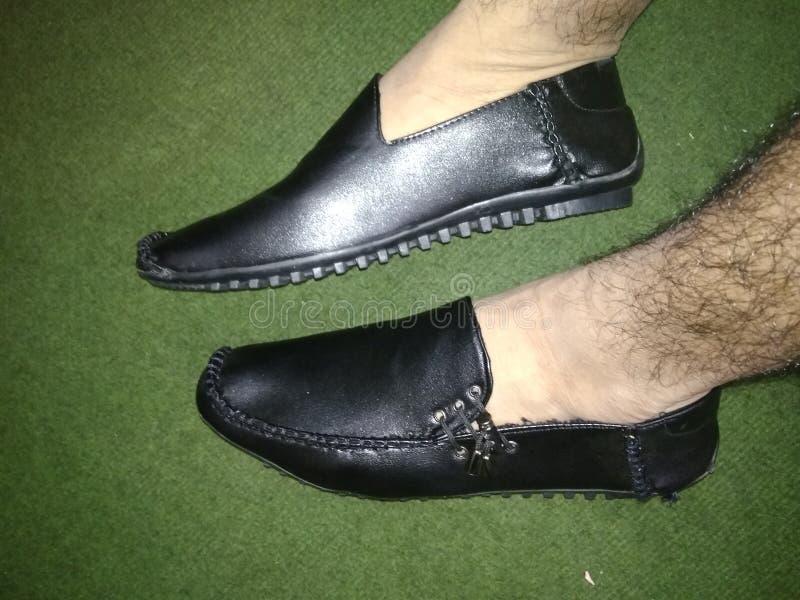 Schwarze Shose-Arten stockfotos