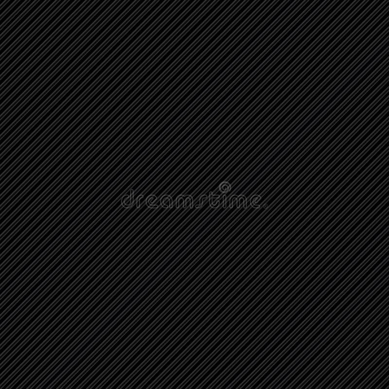Schwarze Streifen lizenzfreie abbildung