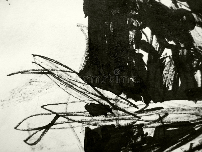 Schwarze Tintenbeschaffenheit stockfotografie