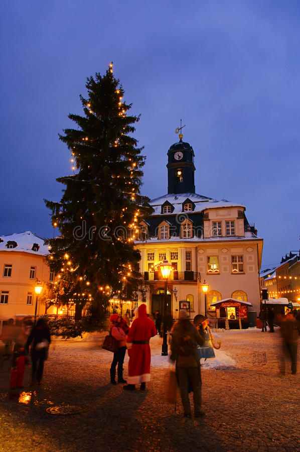 Free Schwarzenberg Christmas Market 01 Stock Image - 34436601