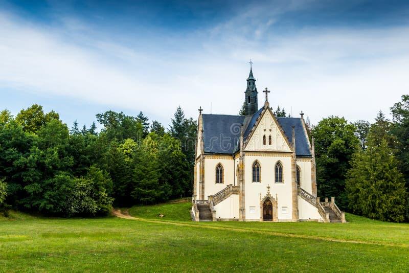 Schwarzenberg tomb near castle Orlik - Czech republic. stock photography