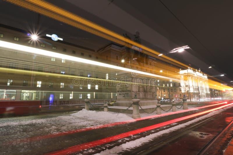 Schwarzenbergplatz - Quadrat von Schwarzenberg in Wien lizenzfreie stockfotografie