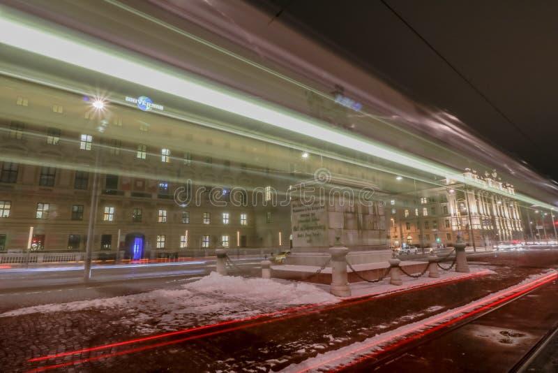 Schwarzenbergplatz - Quadrat von Schwarzenberg in Wien stockfoto