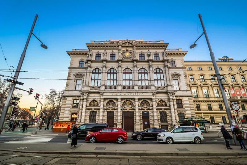 Schwarzenbergplatz - Quadrat von Schwarzenberg in Wien stockbilder