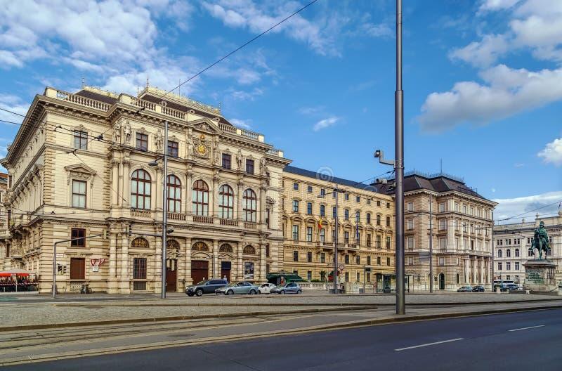Schwarzenbergplatz, Wien, Österreich stockfoto