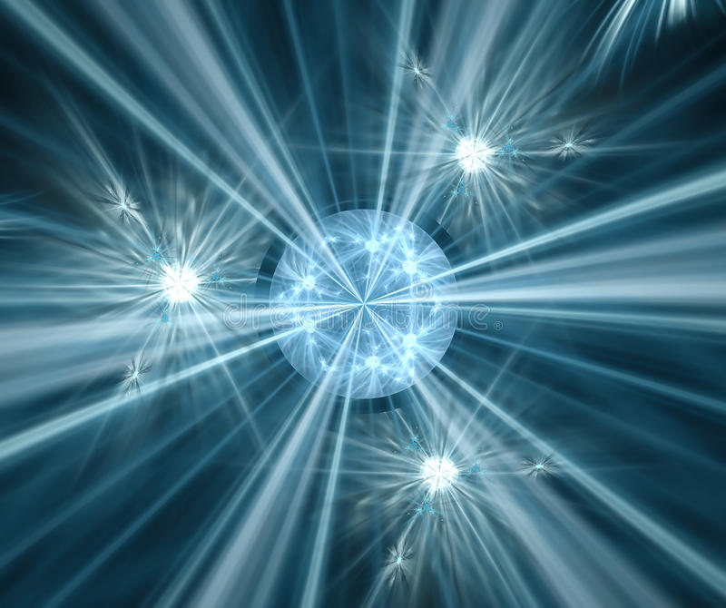 Schwarzer abstrakter Hintergrund mit Türkissternbeschaffenheit Blaues sphe vektor abbildung