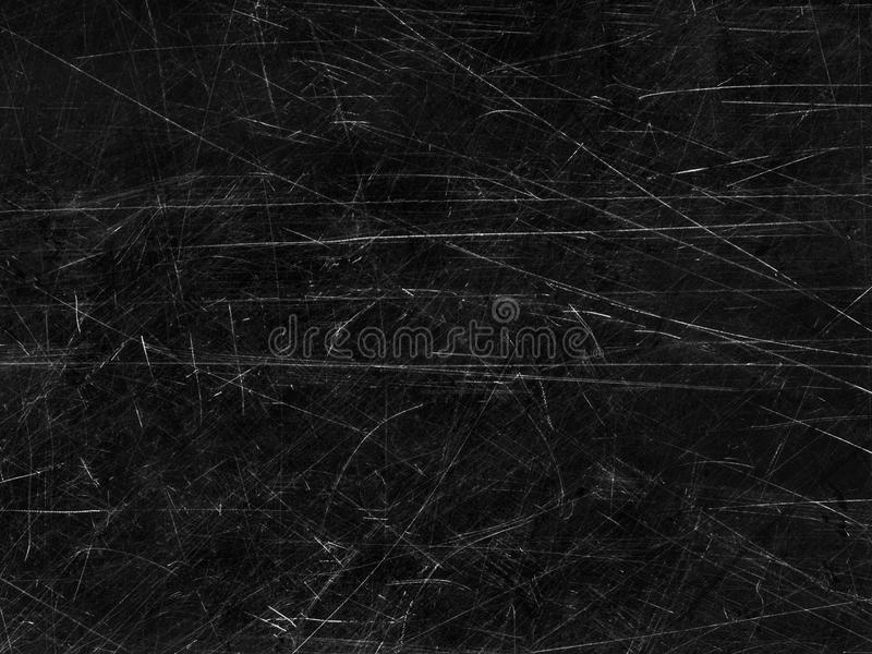 Schwarzer alter verkratzter Oberflächenhintergrund lizenzfreie stockfotografie