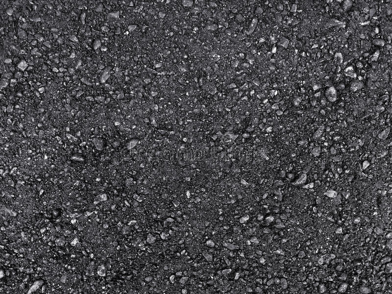 Schwarzer Asphalt stockfotos