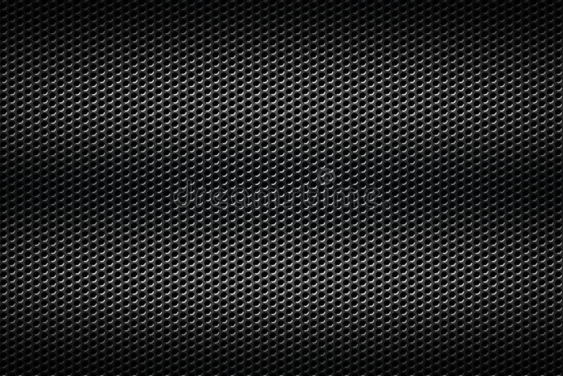 Schwarzer Chromgrill industrielles Thema vektor abbildung