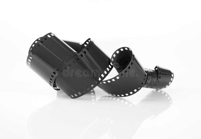 Schwarzer Film stockbild