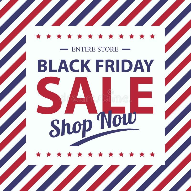 Schwarzer Freitag-Verkauf vektor abbildung