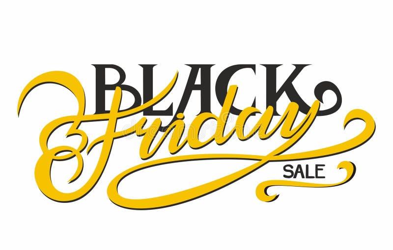 Schwarzer Freitag-Verkauf lizenzfreie stockfotografie