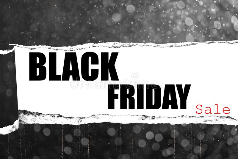 Schwarzer Freitag-Verkauf stockbilder
