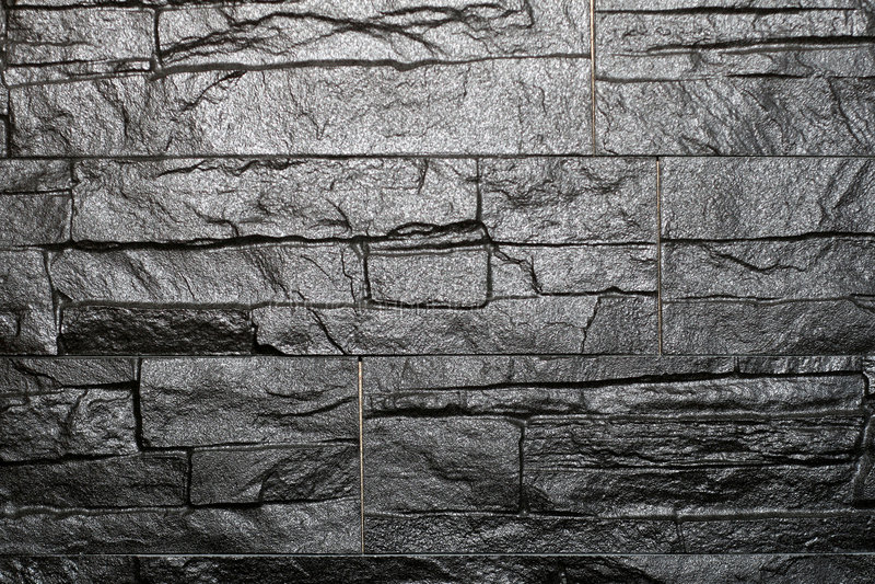 Schwarzer Granit lizenzfreies stockbild