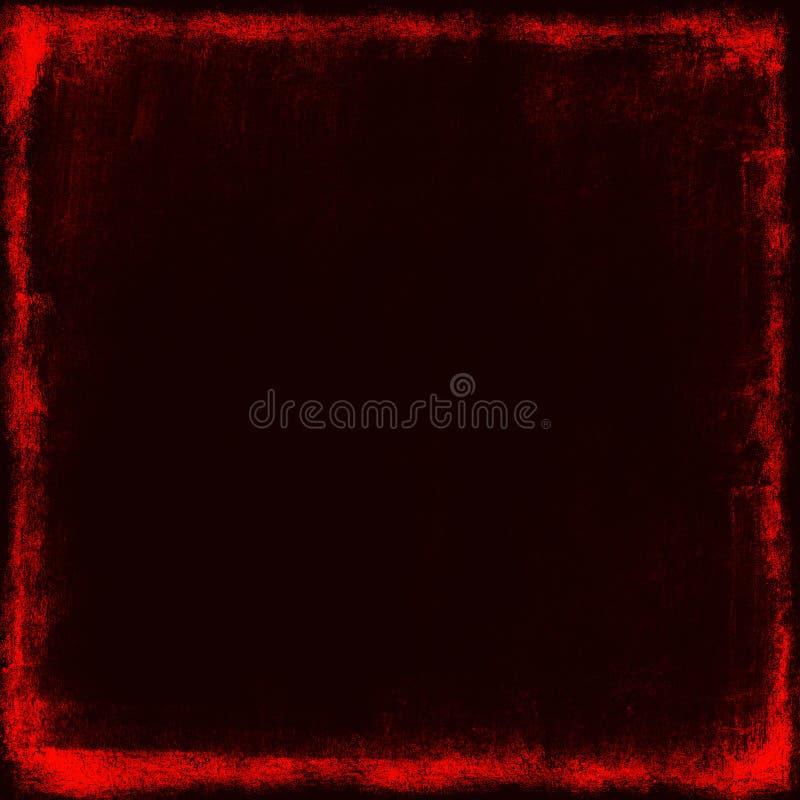 Schwarzer grunge Hintergrund vektor abbildung