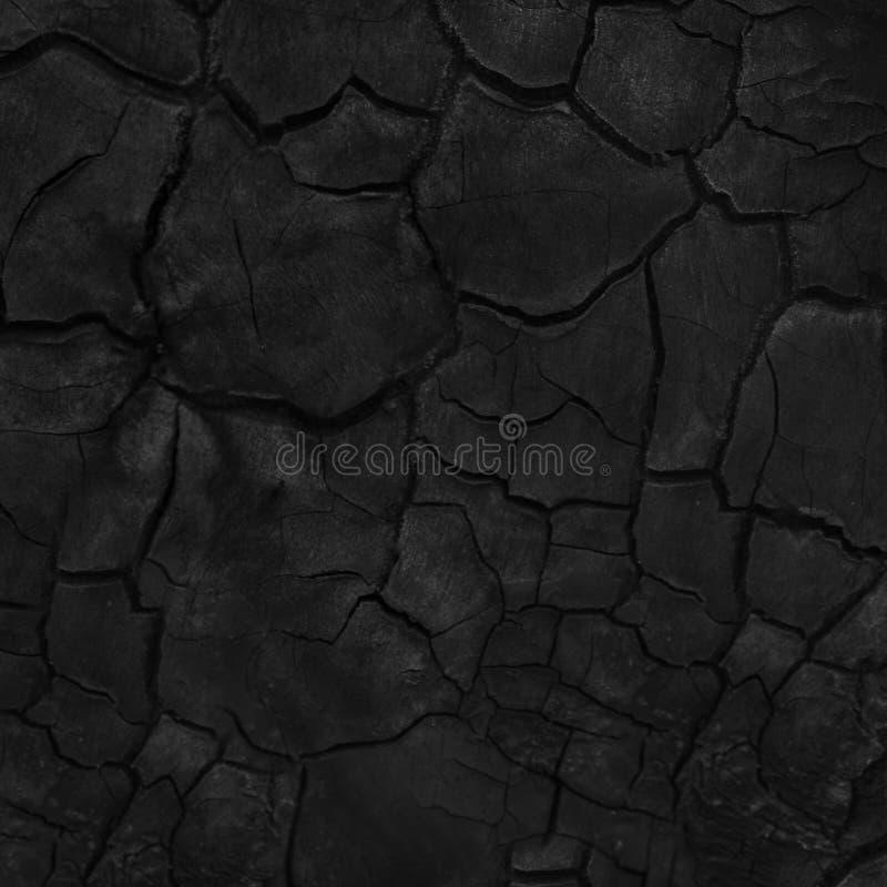 Schwarzer grunge Hintergrund Gebrannte h?lzerne Beschaffenheit stockbild