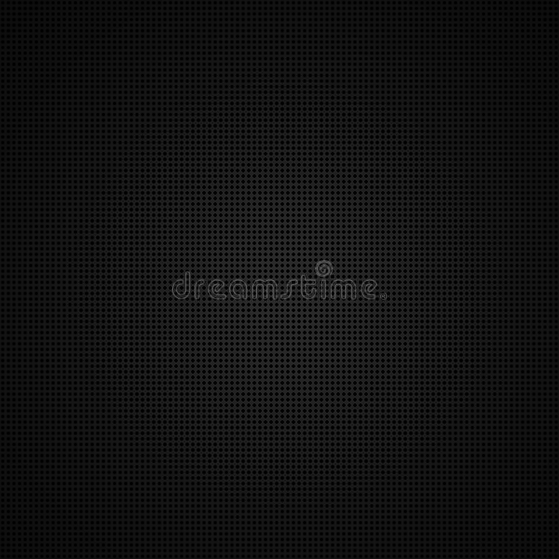 Schwarzer Hintergrund des Kreismusters stock abbildung