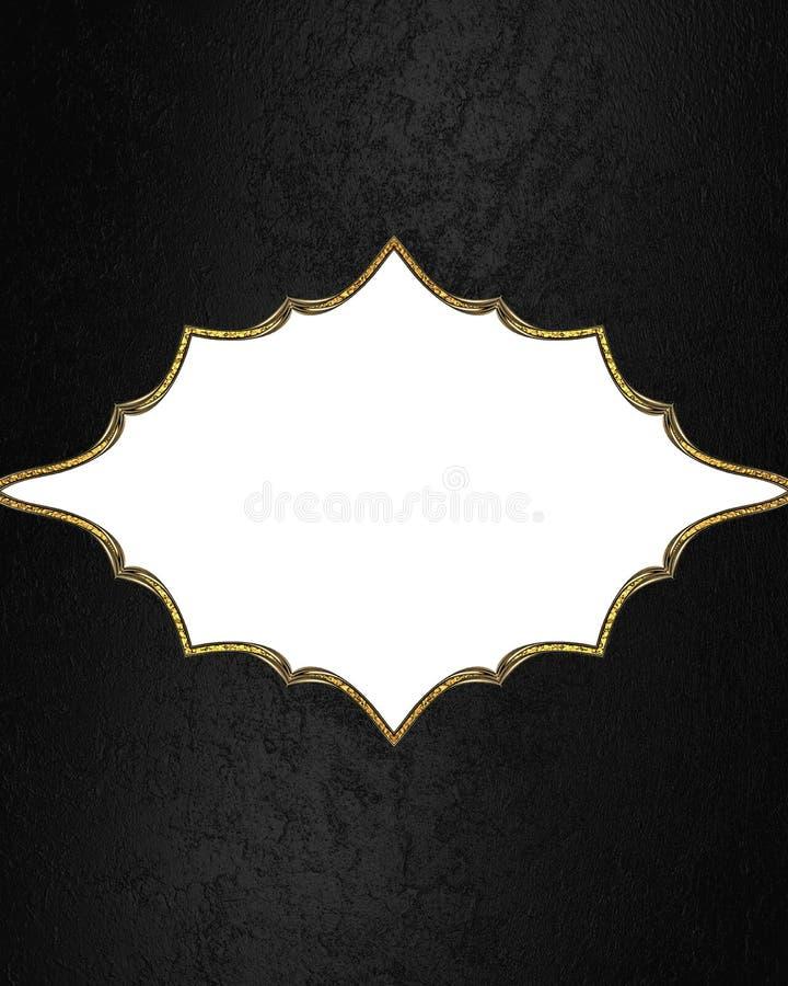 Schwarzer Hintergrund mit Feld Element für Entwurf Schablone für Entwurf kopieren Sie Raum für Anzeigenbroschüre oder Mitteilungs lizenzfreies stockfoto