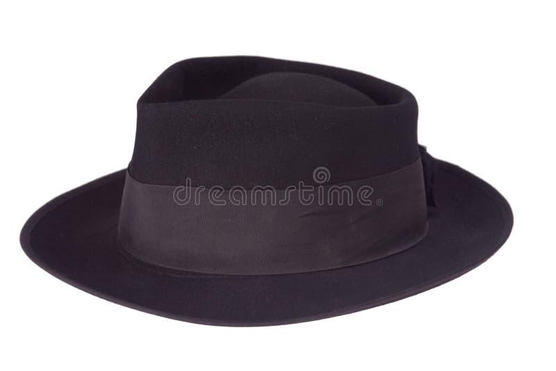 Schwarzer Hut lizenzfreie stockfotografie