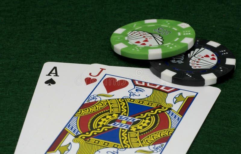 Download Schwarzer Jack stockbild. Bild von steckfassung, blackjack - 854415
