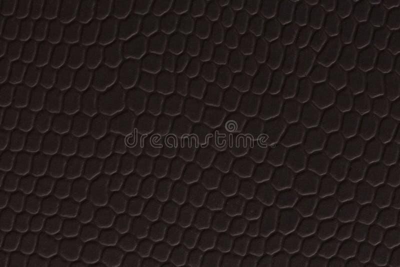 Schwarzer Kraftpapier-Blatthintergrund, Makroschuß Dunkle Papierbeschaffenheit lizenzfreie stockfotografie