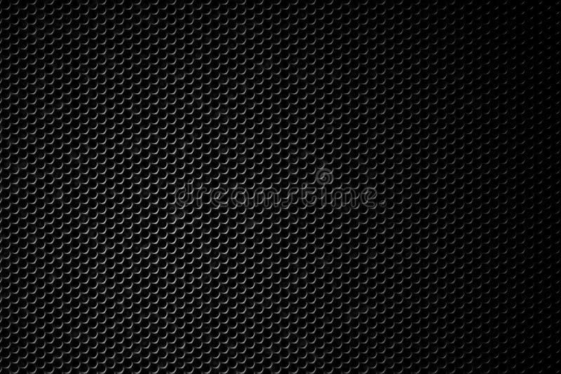 Schwarzer Lautsprechergrill stockfoto