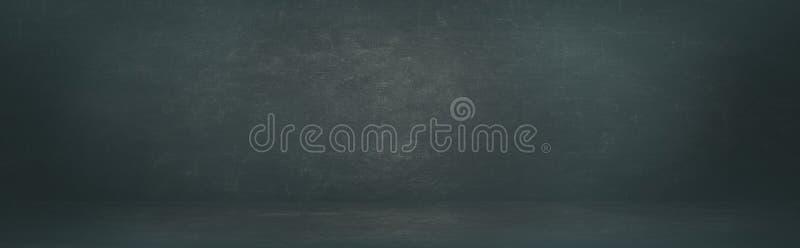 Schwarzer leerer Bretthintergrund des Brettes oder der Kreide stockfotos