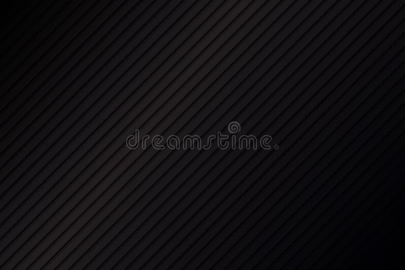 Schwarzer metallischer abstrakter Hintergrund lizenzfreie abbildung