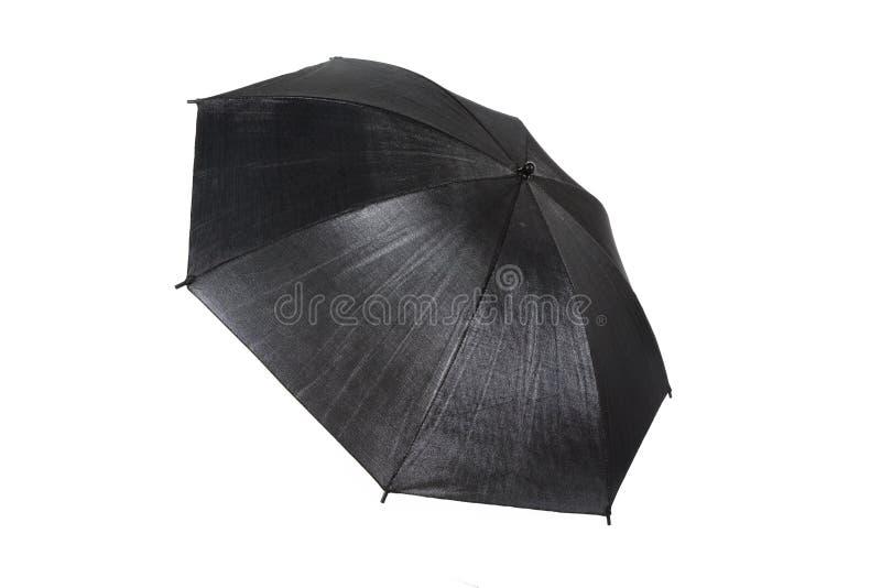 Schwarzer Regenschirm stockfotografie