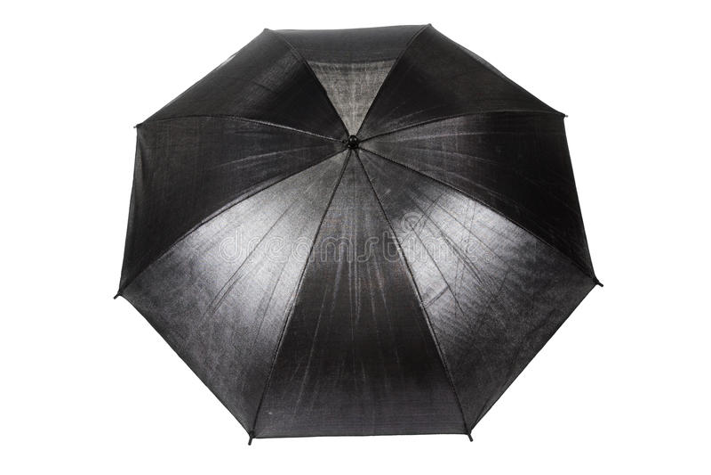 Schwarzer Regenschirm lizenzfreies stockbild