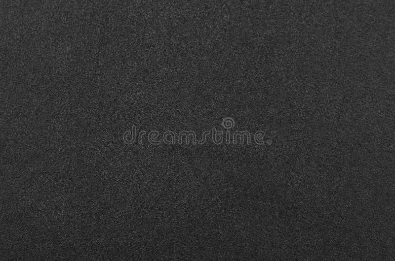 Schwarzer Schwammgummi lizenzfreies stockbild