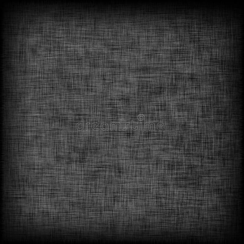 Schwarzer Segeltuchhintergrund oder -beschaffenheit lizenzfreie stockfotos