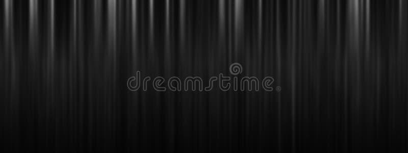 Schwarzer Stadiumstheater-Vorhanghintergrund mit Kopienraum lizenzfreie stockfotografie