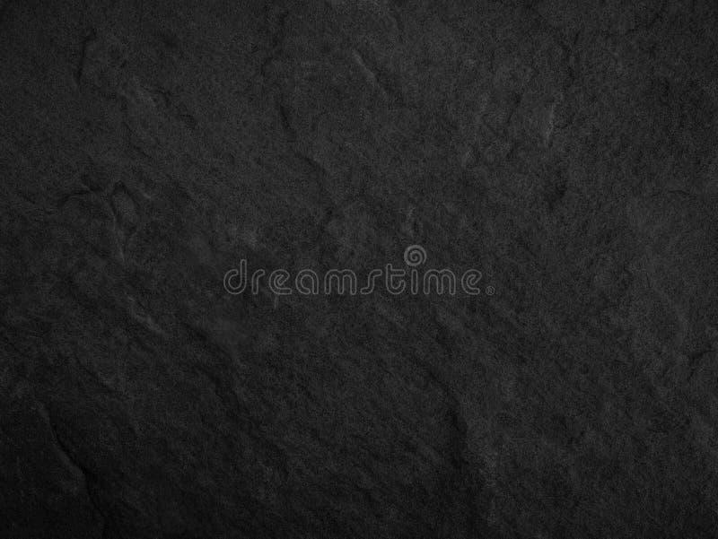 Schwarzer Stein, Schieferbeschaffenheitshintergrund lizenzfreie stockbilder
