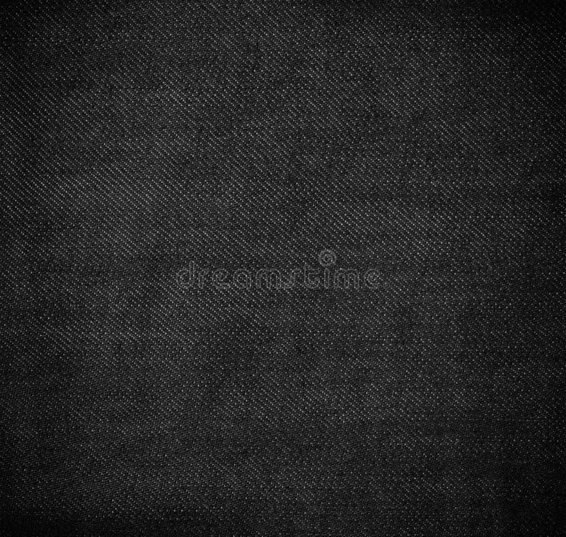 Schwarzer Stoffbeschaffenheitshintergrund stockbilder
