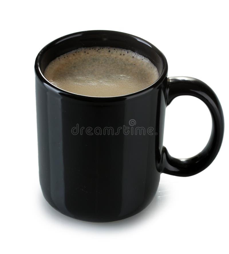 Schwarzer Tasse Kaffee stockfoto