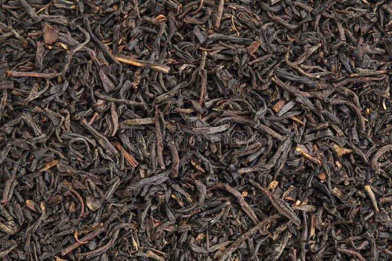Schwarzer Tee des englischen Frühstücks stockfotografie