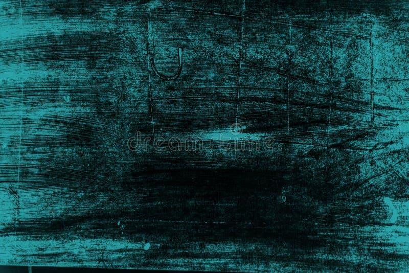 Schwarzer und blauer Pinselanschlaghintergrund lizenzfreies stockfoto