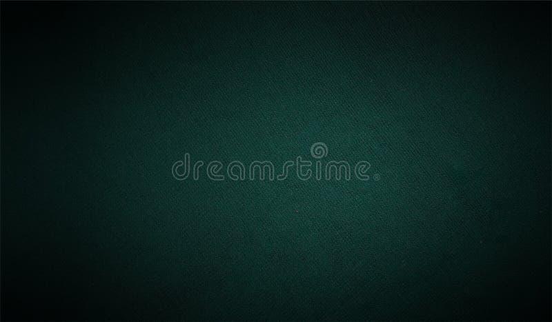 Schwarzer und grüner schattierter strukturierter Hintergrund Papierschmutzhintergrundbeschaffenheit Eine Abbildung einer Batikaus lizenzfreie abbildung