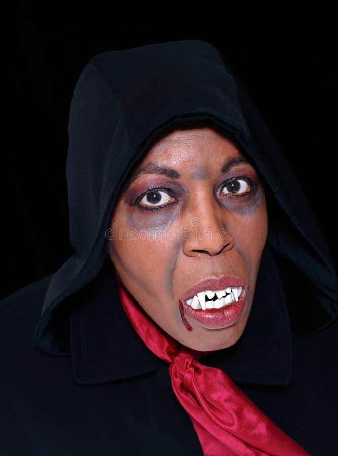 Schwarzer Vampir lizenzfreies stockfoto